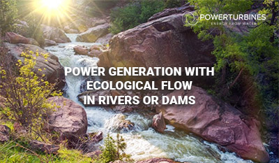 power generation cological flow in rivers