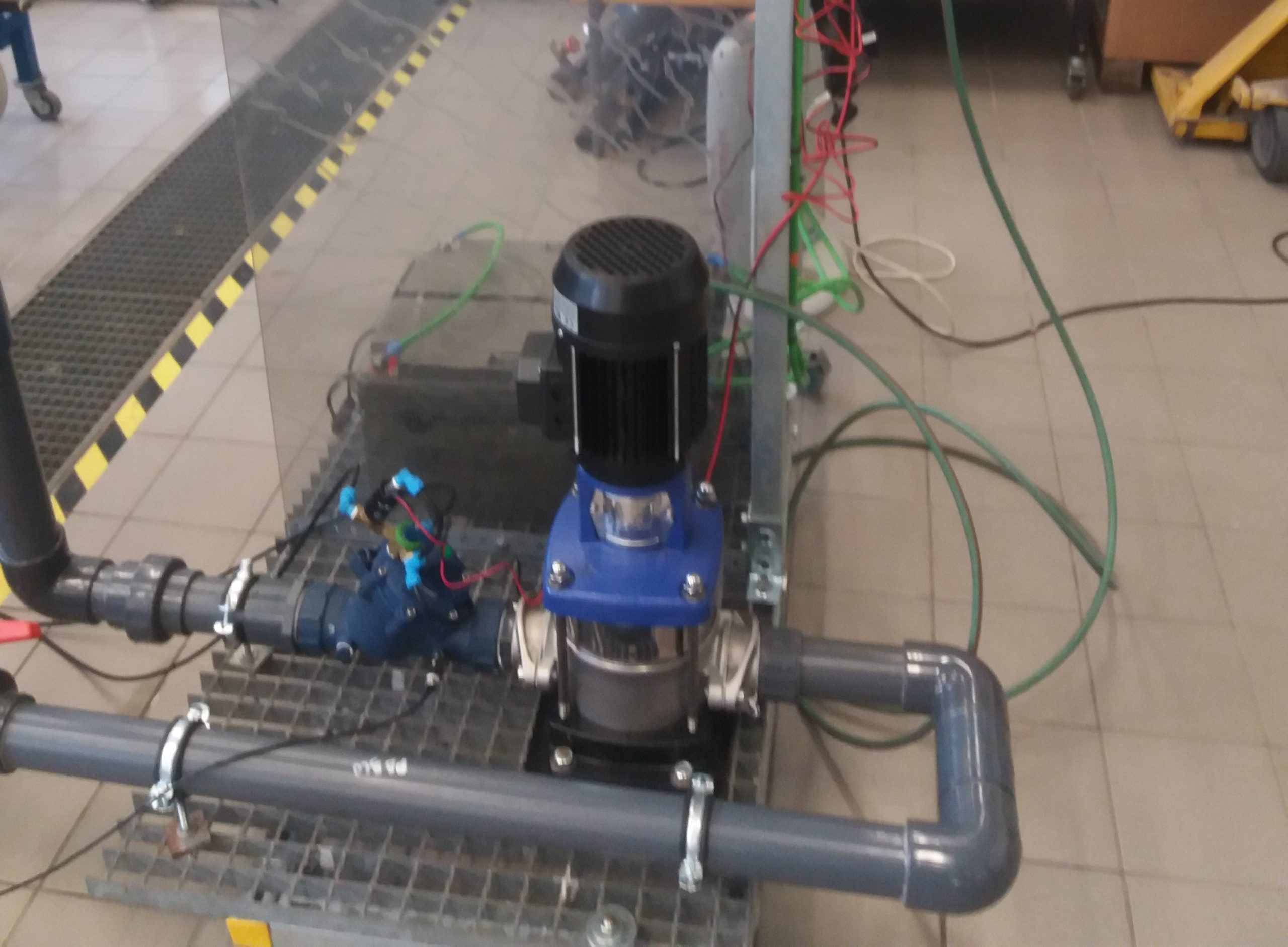 Turbina hidraulica UPV