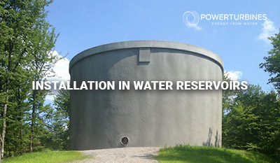 installation water reservoirs