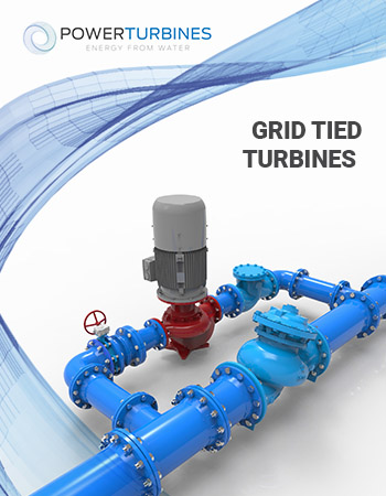 Grid tied turbines